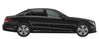 BIZDRIVE-Business-Taxi-Rotterdam-Mercedes-Benz-E-Class-black