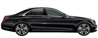 BIZDRIVE-Business-Taxi-Rotterdam-Mercedes-Benz-S-Class-black
