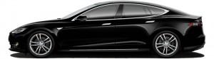BIZDRIVE Business Taxi Rotterdam Tesla Model S